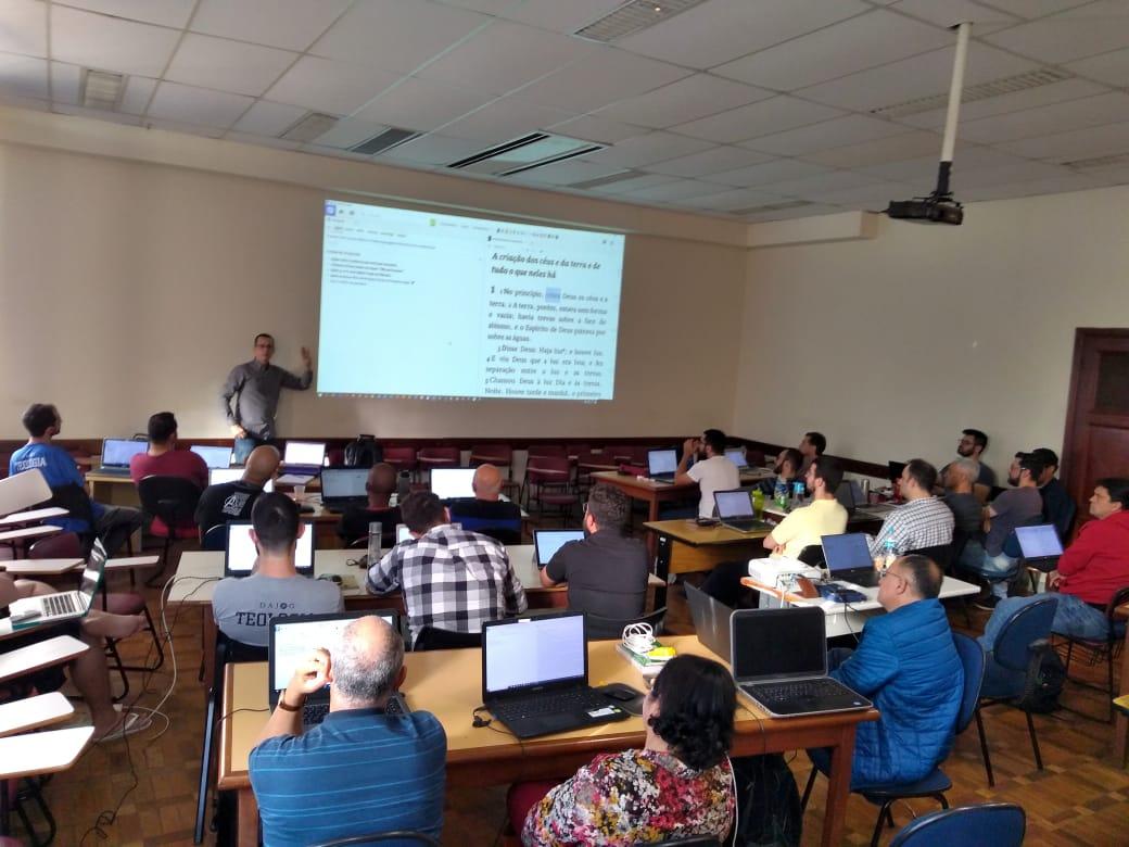 Mais de 30 participantes no treinamento no SPS em Campinas-SP.